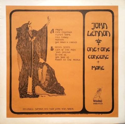 JOHN LENNON   ONE TO ONE & MORE   Wizardo WRMB 301