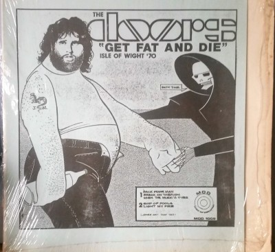 THE DOORS   GET FAT AND DIE   MOD Records 1009