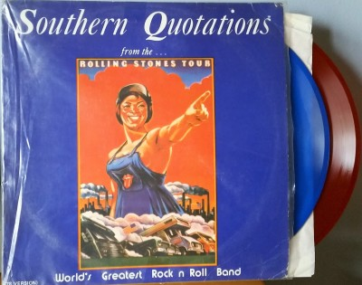ROLLING STONES   SOUTHERN QUOTATIONS  Smilin' Ears SE 2722