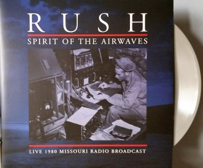 RUSH  SPIRIT OF THE AIRWAVES  Back On Black Rock Classics