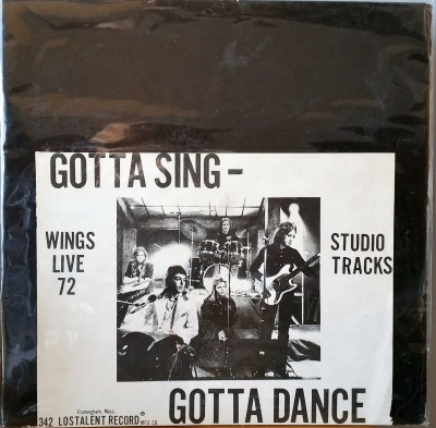 PAUL McCARTNEY  GOTTA SING GOTTA DANCE   Wizardo 342