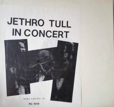 JETHRO TULL   IN CONCERT  Rockwell & Good Music RG5010