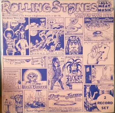 ROLLING STONES  WINTER TOUR 1973 - ALL MEAT MUSIC  Dragonfly