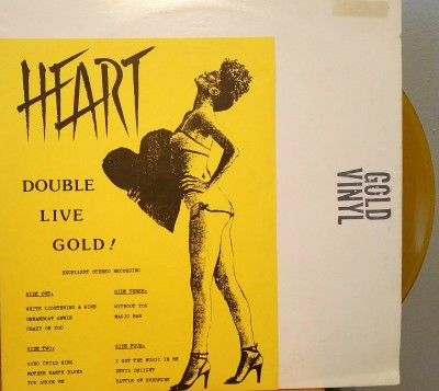 HEART   DOUBLE LIVE GOLD