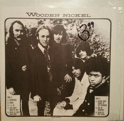 CROSBY STILLS NASH & YOUNG   WOODEN NICKEL  Canyon Records