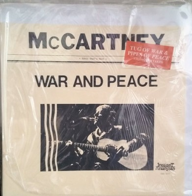 PAUL McCARTNEY  WAR & PEACE  Instant Analysis BRR 015