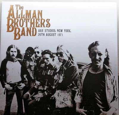 THE ALLMAN BROTHERS  A&R STUDIOS  Let Them Eat Vinyl