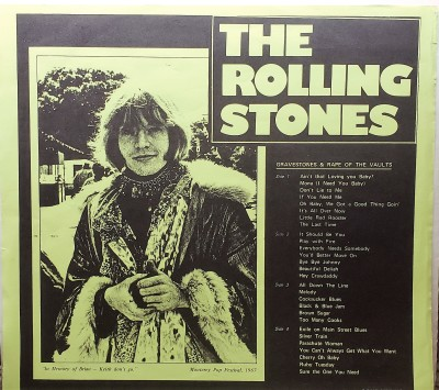 THE ROLLING STONES   GRAVESTONES & RAPE OF THE VAULTS  RSVP 002-003