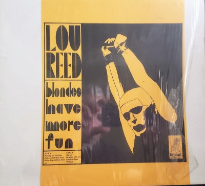 LOU REED  BLONDES HAVE MORE FUN  Wizardo WRMB 332
