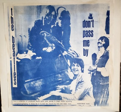 THE BEATLES  DON'T PASS ME BY  CBM 3316