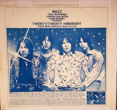 NAZZ   TWENTY / TWENTY HINDSIGHT   TAKRL 1936