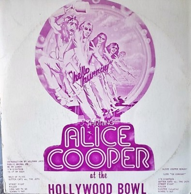 ALICE COOPER  AT THE HOLLYWOOD BOWL  Berkeley 2017/8