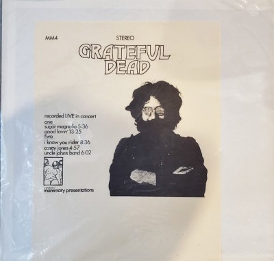 GRATEFUL DEAD  RECORDED LIVE  Mammary Presentations