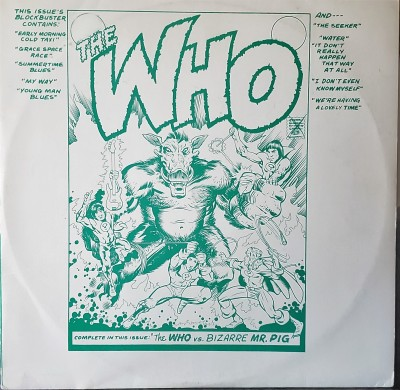 THE WHO   THE WHO VS. BIZARRE MR.PIG