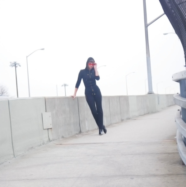 Fashion, Catsuit, Pulaski Bridge, Style