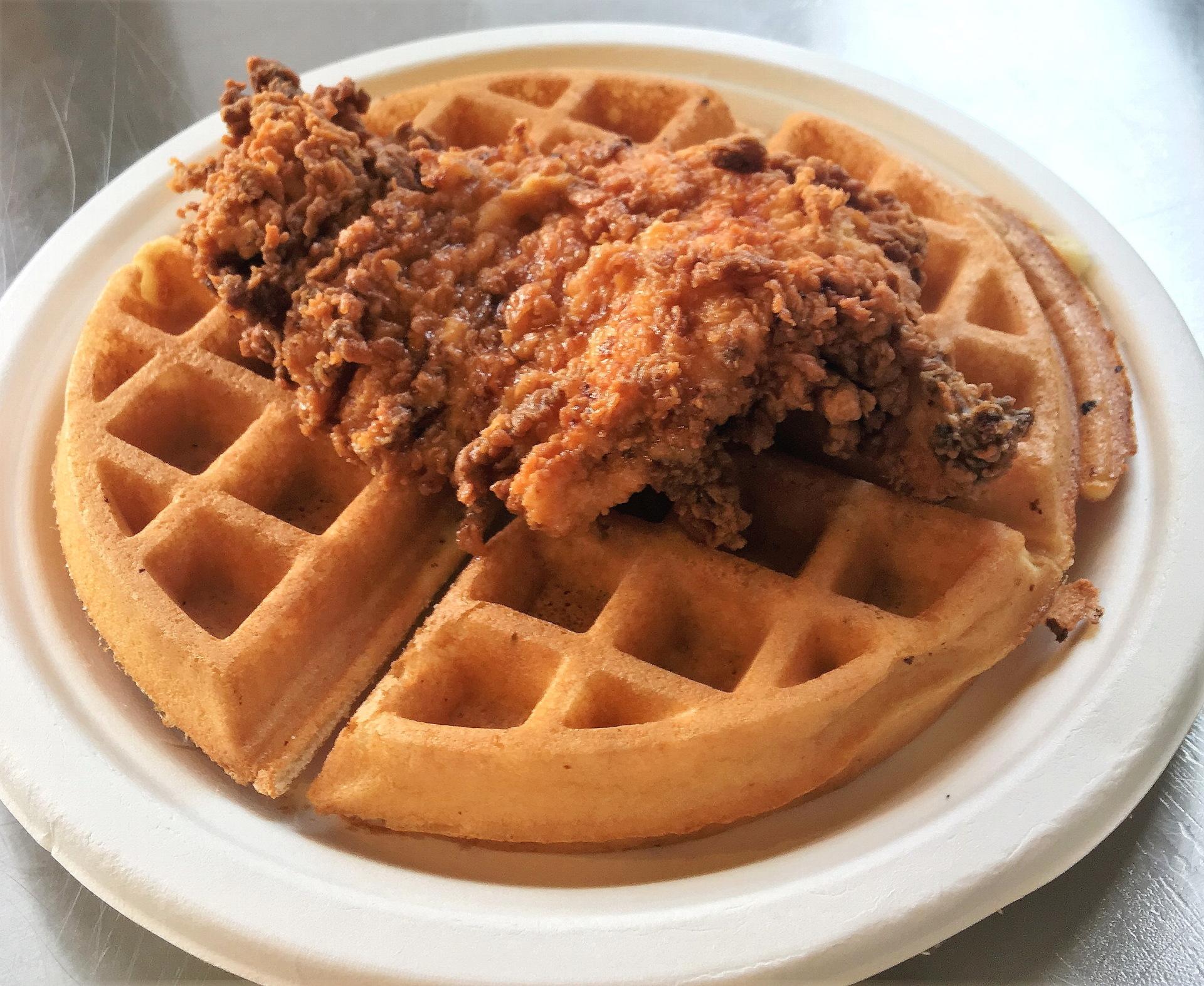 Chicken & Waffle  9.25