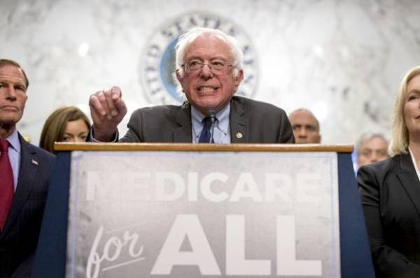 Medicare For All Proposes Senator Bernie Sanders