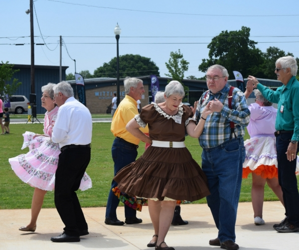 Oldemeyer Center Offering Square Dancing Club Every Tuesday Evening From 7:30 To 9:00 P.M.