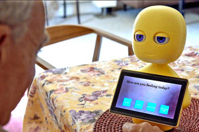 Robots Playing An Important Role In Aging Senior Population Companion Care