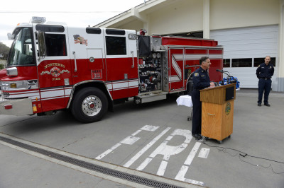 Monterey Fire Engines Being Staffed With Paramedics