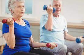Senior Exercise Program At Oldemeyer Center In Seaside