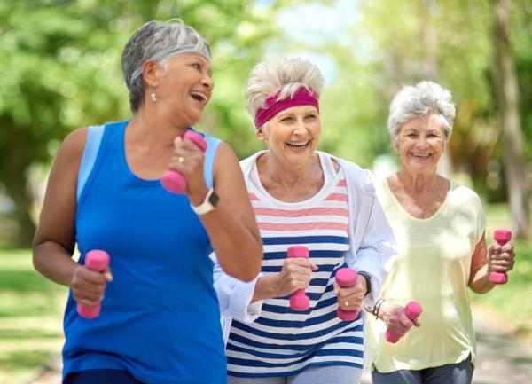 Senior Exercise Program At Oldemeyer Center In Seaside