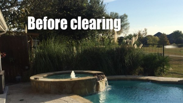 Before Clearing