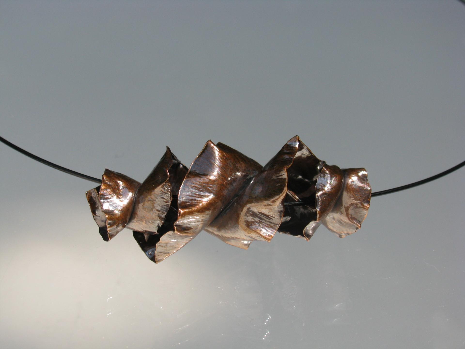 Fold Formed Pendant