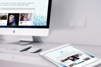 Responsive web, Company website