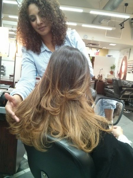 Full hair service