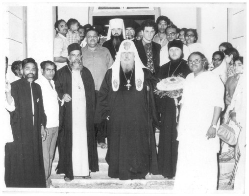 Visit of H H Vazgan Armenian Catholicose on 19th November 1963
