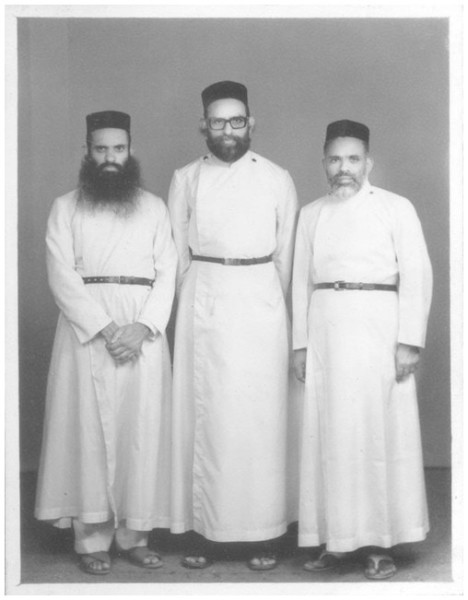 Fr.K.I Paul, Fr.O.V Elias and Fr.Joseph Vendarappally - Capitans during 1983