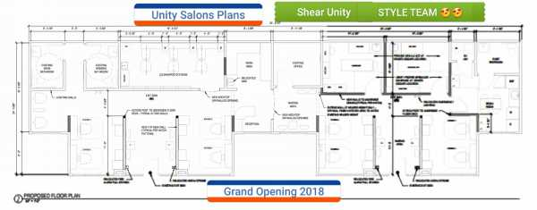 UNITY SALONS & STYLE TEAMS - SPRING 2018