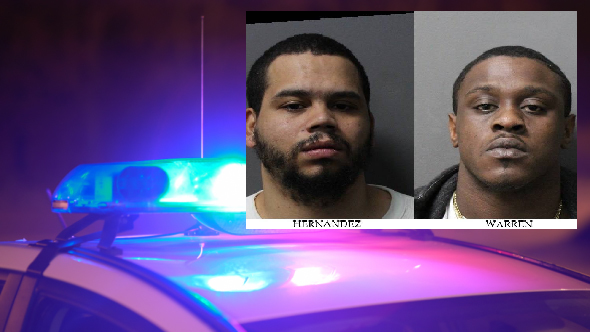 Men Arrested for 43 Bags of Crack Cocaine
