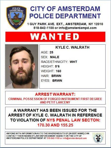 Amsterdam Man Wanted for Crimes