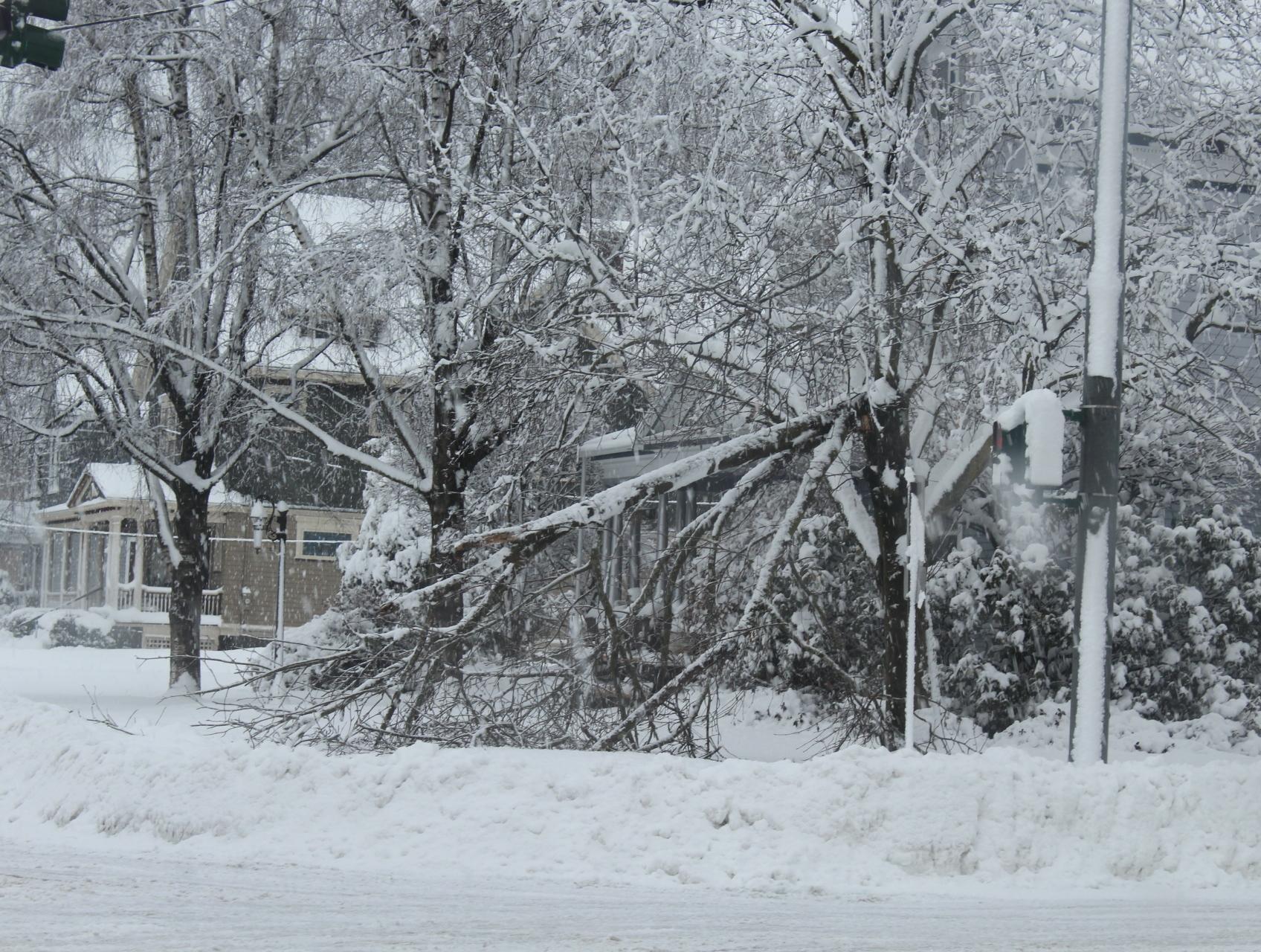 Intersection of Prospect St & Kingsboro Ave in Gloversville