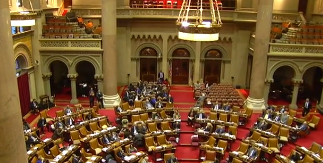 NYS Legislature passes budget; Albany gets $12 million
