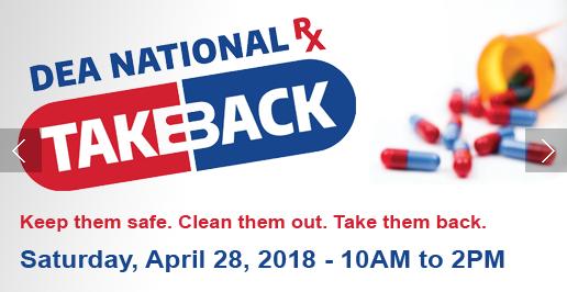 GPD & DEA Holding Unwanted Prescription Drug Take Back Event
