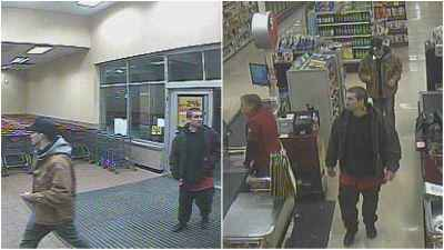 Colonie police looking for two men in larceny investigation