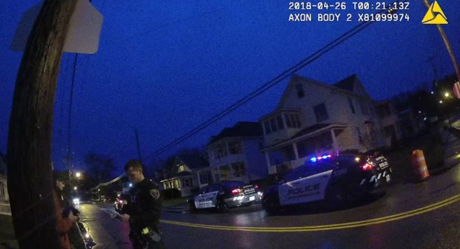 GPD Officer Hit by Truck; Police Looking for Vehicle (Body Cam Footage Attachted)