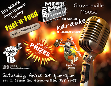 Karaoke Contest Slated for This Saturday