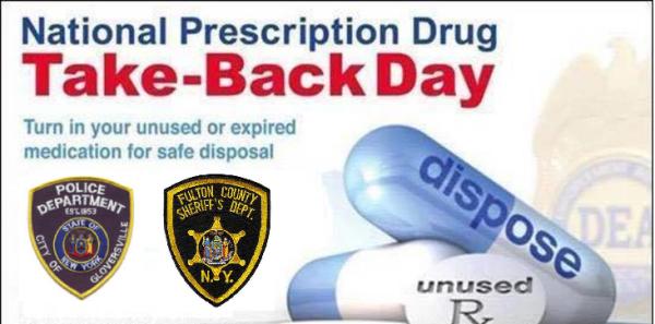 Local Law Enforcement Participate in National Prescription Drug Take Back Day