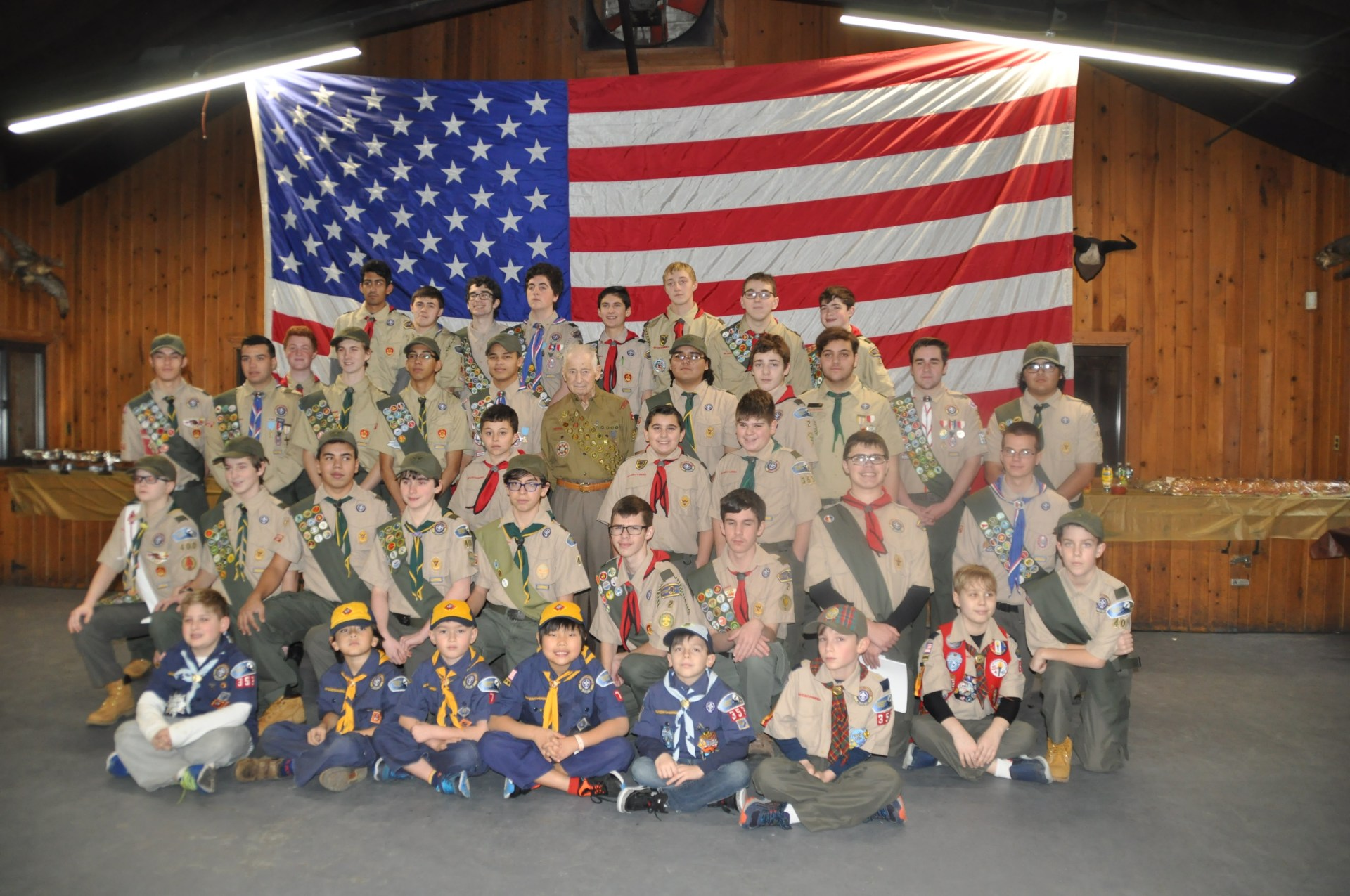 Pack 7 Attends Historic Eagle Ceremony