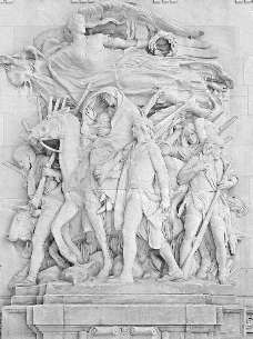 Bas Relief sculptures on Michigan Avenue Bridge