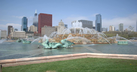 Buckingham Fountain in Chicago