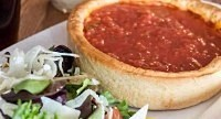 Chicago Guest House Steps to Hundreds of Amazing Restaurants--Giordano's deep dish pizza