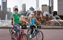Chicago Guest House highly recommends renting bikes as there is no better way to see the city than on foot or bike!
