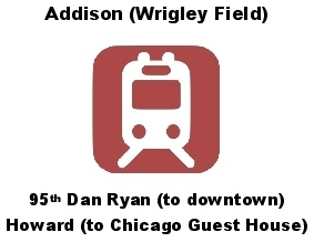 Chicago Guest House Vacation Rental: Walk to Red Line Train to Downtown
