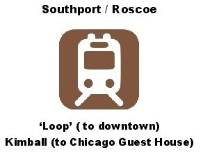 Chicago Guest House Vacation Rental: Walk to Brown Line Train to Downtown