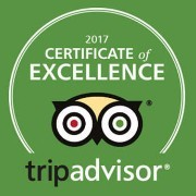 Tripadvisor 2017 award of excellence winner